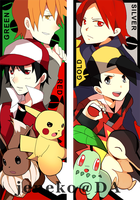 Bookmark: Pokemon by Jeneko