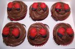 Boxing glove cupcakes by MissMarysCakes