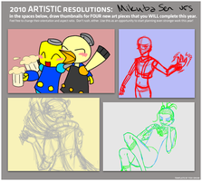To finish during 2010 meme by MrTwinklehead
