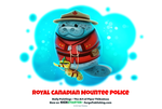 Daily 1319. Royal Canadian Mountee Police by Cryptid-Creations