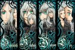FFAC- SHM bookmarks by Haru-rin