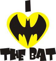 I Heart The Bat by Jay13x