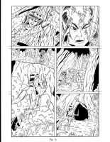 Elfquest page 5 (Inked) by RoyPrince