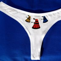Dalek panties by F-A
