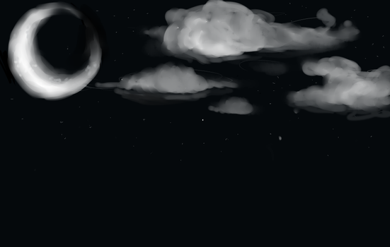 Night sky by Freedomlastsforever