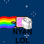 Nyan Cat LOL by xTheOriginalx