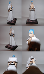 Grimmjow papercraft model by Weirda208