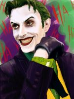 Anthony Misiano as the joker by Evymonster9406