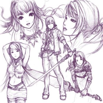 Sketch Compilation 4 by minties