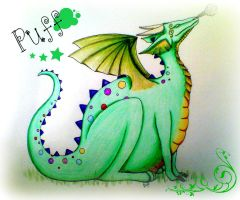 Puff the magic Dragon by ocean-crystal