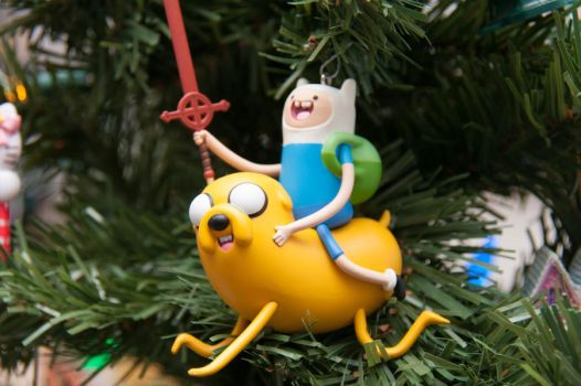 Adventure Time Christmas Ornament by LDFranklin