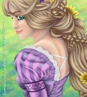 Disney: Rapunzel from Tangled by kimberly-castello