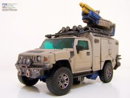 Ironfist - Alt Mode by WheelJack-S70