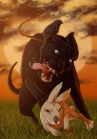 Watership Down - Dandelion Runs by fiszike
