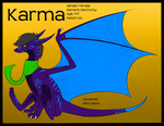 Karma Reference by Dragon-Wolf-Lover