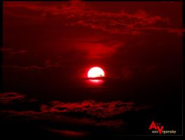 Bloody Sunset by ukraine-photo