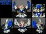 RASK OPTICON custom vinyl toy Stitch by rAskopticon