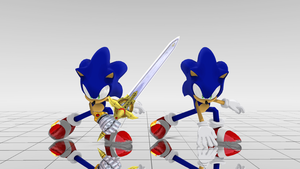 Sonic The Hedgehog WIP: SBK Accessories by BluexBlur