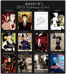 2015 Art Summary by Marrrow