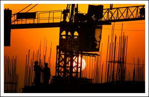 construction sunset 03 by sanwahi