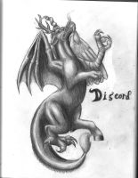 Discord The Draconequus by Pickledsuicune