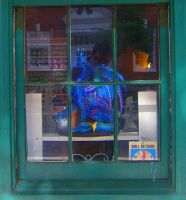 Dragon In the Window 2 by happymouse666
