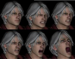 Nero Faces by sidneymadmax