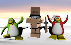 Cheap Damage: Club Penguin by ChadRocco