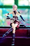 Play Arts: FFXIII Lightning by JoviClaire