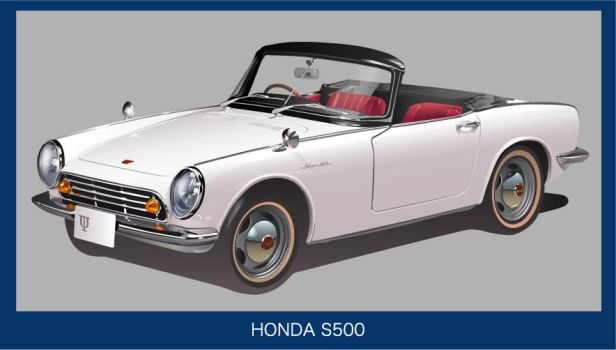 HONDA S500 by GraphicDream
