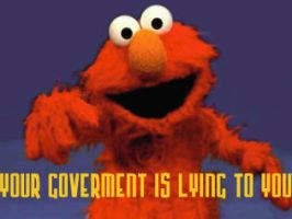 Elmo, SesameParty Propagandist by squirrelboy9622