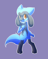 Fan Art: Riolu by DragonicSalphe