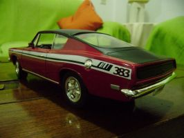 plymouth barracuda 69 scale 1 18 by EnriqueGomez