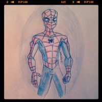 Spider-Man! by pascalscribbles