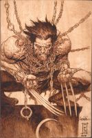 wolverine after leinil yu by burninginkworks
