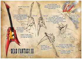 Dead Fantasy III: Rikku Nevan by Sketchfighter316