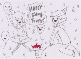 Gift : Happy B'day Jumpy! by ImaiAiko