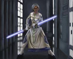 Jedi Zabrak SWTOR Sayl Morningstar by Aliens-of-Star-Wars