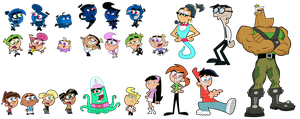 Fairly OddParents Characters by FairlyOddFan