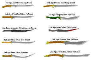 The Third Age-Elven Swords by Scatha-the-Worm