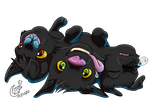 My Little Cerberus by LadyRosse