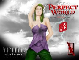 Perfect World: Marianne by xero-vlade