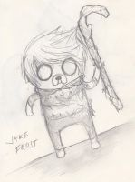 Sketch: Jake Frost by awesomepatricia