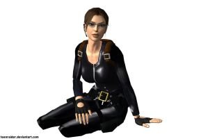 TRC Catsuit Render Next-Gen by TeenRaider