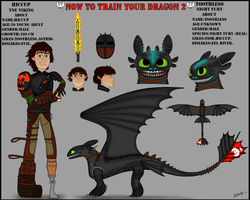 HTTYD 2  Toothless and Hiccup by InfernoFury21