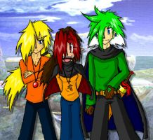 SZ and his friends - DevID by ShinyZango