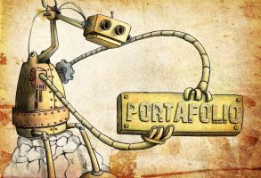 Robot porta by elveriant