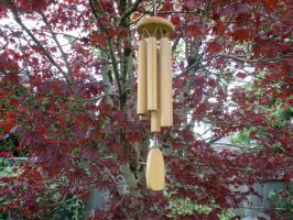 Bamboo Windchime by Bwabbit