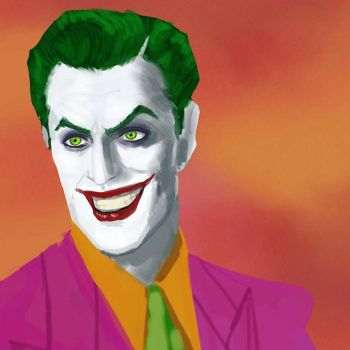 Vincent Price as The Joker by GreenishQ8