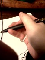 How I Hold My Coloring Tools by kolson98